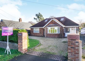 Thumbnail 4 bed detached bungalow for sale in Long Lane, Chester