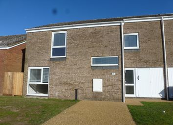 Thumbnail 3 bedroom end terrace house for sale in Redwood Lane, Raf Lakenheath, Brandon