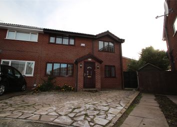 Thumbnail 5 bed semi-detached house for sale in Upper Hayes Close, Belfield, Rochdale, Greater Manchester