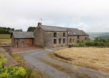 Thumbnail 4 bed detached house for sale in The Tilla, Gilwern, Abergavenny