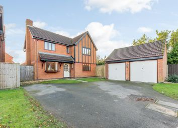 Thumbnail 4 bed detached house for sale in Turner Croft, Fradley, Lichfield