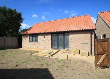 Thumbnail 2 bedroom detached bungalow for sale in Risby, Bury St Edmunds, Suffolk