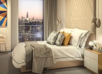 Thumbnail 2 bedroom flat for sale in Maine Tower, Harbour Central, Canary Wharf, London