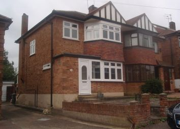 Thumbnail 3 bed semi-detached house to rent in Stewards Close, Epping