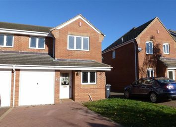 Thumbnail 3 bed semi-detached house to rent in Jack Cade Way, Warwick