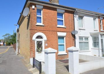 Thumbnail 2 bedroom end terrace house for sale in Victoria Road, Parkstone, Poole