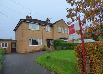 Thumbnail 3 bedroom semi-detached house for sale in Audley Road, Alsager, Cheshire