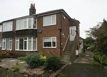 Thumbnail 2 bed flat for sale in St Peters Crescent, Morley, Leeds