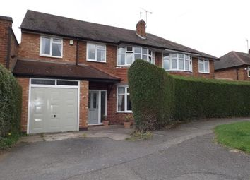 Thumbnail 5 bedroom semi-detached house for sale in Needham Avenue, Glen Parva, Leicester, Leicestershire