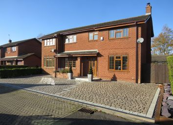 Thumbnail 5 bedroom detached house for sale in Sandwell Court, Two Mile Ash, Milton Keynes