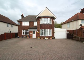 Thumbnail 3 bed detached house for sale in Felixstowe Road, Ipswich, Suffolk