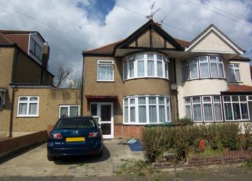 Thumbnail 1 bed flat to rent in Moat Drive, Harrow