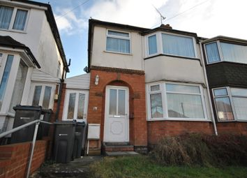 Thumbnail 3 bed semi-detached house to rent in Steyning Road, Yardley, Birmingham