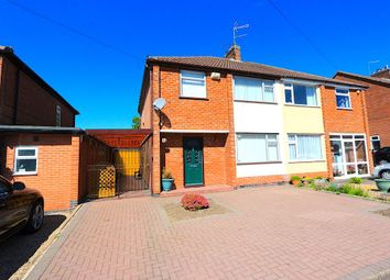 Thumbnail 3 bed semi-detached house for sale in South Avenue, Leicester Forest East, Leicester