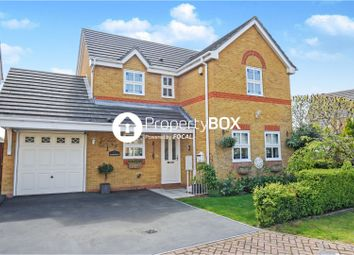 Thumbnail 4 bed detached house for sale in Quickstep Close, Sittingbourne