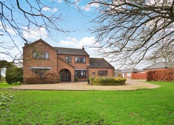 Thumbnail 5 bed detached house for sale in Green Lane, Christchurch, Wisbech