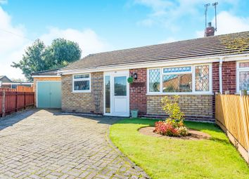 Thumbnail 3 bed semi-detached bungalow for sale in Deepmore Close, Alrewas, Burton-On-Trent