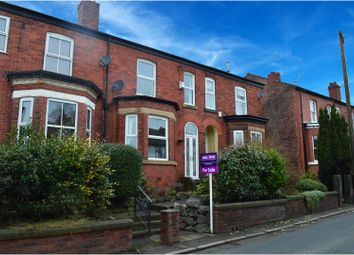 Thumbnail 4 bed terraced house for sale in Folly Lane, Manchester