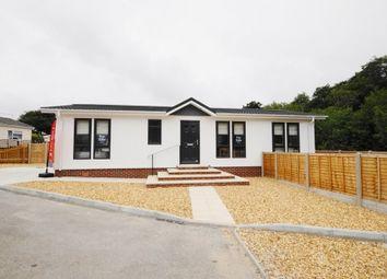 Thumbnail 2 bed mobile/park home for sale in Glendene Park, Bashley Cross Road, New Milton, Hampshire