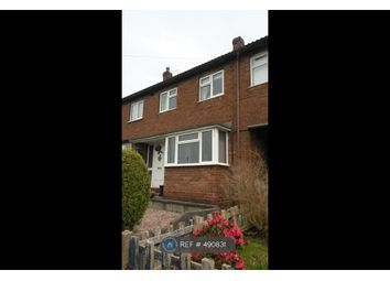 Thumbnail 2 bed terraced house to rent in Prince Charles Avenue, Leek