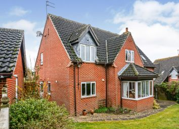 Thumbnail 4 bed detached house for sale in Highfield Drive, Claydon, Ipswich