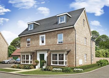 "Thumbnail 5 bed detached house for sale in ""Marlowe"" at Marsh Lane, Leonard Stanley, Stonehouse"