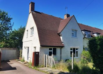 Thumbnail 3 bed end terrace house for sale in Campers Avenue, Letchworth Garden City, Hertfordshire, England