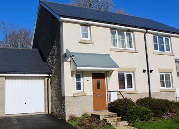 Thumbnail 3 bed semi-detached house for sale in Trelowen Drive, Penryn