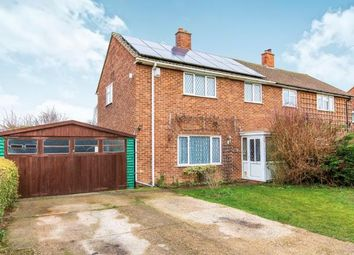 Thumbnail 3 bed semi-detached house for sale in St. Neots Road, Eltisley, St. Neots, Cambridgeshire