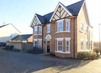 Thumbnail 3 bed semi-detached house for sale in Midsummer Grove, Great Denham