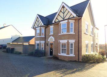 3 bed semi-detached house for sale in Midsummer Grove, Great Denham MK40