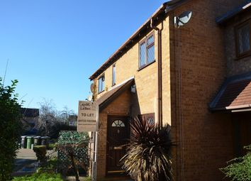 Thumbnail 2 bed terraced house to rent in Martinsbridge, Peterborough