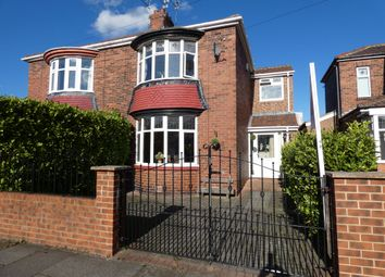 Thumbnail 3 bed semi-detached house for sale in Tharsis Road, Hebburn
