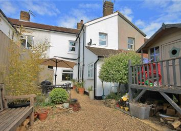 Thumbnail 3 bed terraced house for sale in Victoria Road, Addlestone, Surrey