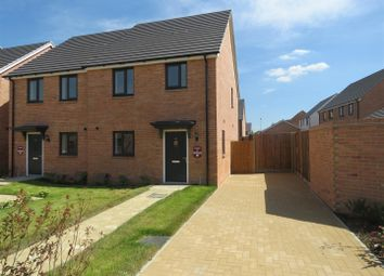Thumbnail 3 bedroom semi-detached house for sale in Gidding Road, Sawtry, Huntingdon