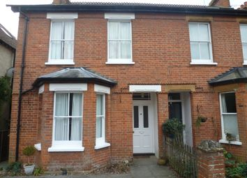 Thumbnail 3 bed semi-detached house to rent in Thorold Road, Farnham