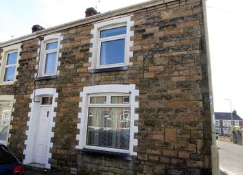 Thumbnail 3 bedroom end terrace house for sale in Highland Place, Bridgend