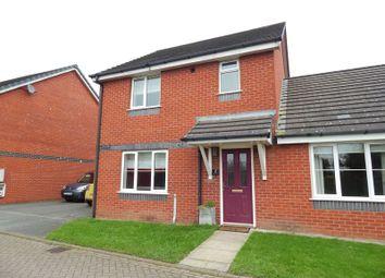 Thumbnail 3 bedroom semi-detached house for sale in Long Moss Meadows, New Longton, Preston