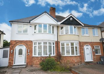 Thumbnail 3 bed semi-detached house for sale in Dunard Road, Shirley, Solihull