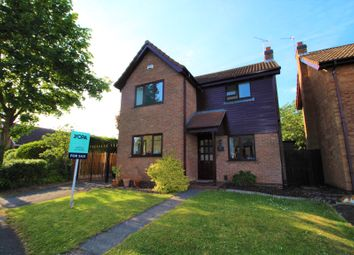Thumbnail 3 bedroom detached house for sale in Spindletree Drive, Oakwood, Derby