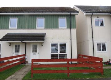 Thumbnail 2 bed semi-detached house for sale in Wellside Close, Munlochy