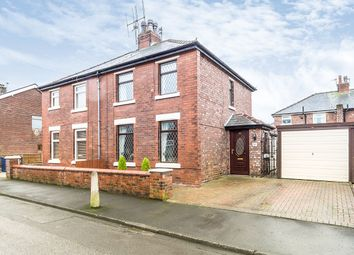 Thumbnail 3 bed semi-detached house for sale in Derby Street, Leyland, Lancashire