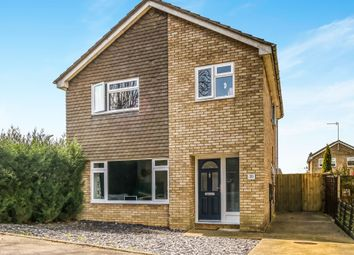 Thumbnail 4 bed detached house for sale in Navisford Close, Thrapston, Kettering