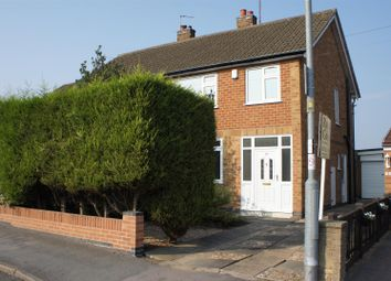 Thumbnail 3 bedroom semi-detached house for sale in Link Road, Anstey, Leicester