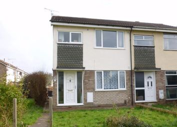 Thumbnail 3 bedroom end terrace house to rent in Hatherley, Yate, Bristol