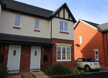 Thumbnail 3 bed semi-detached house for sale in Hutton Road, Kineton, Warwick