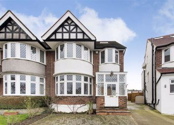 Thumbnail 4 bed semi-detached house for sale in Maxwelton Close, Mill Hill, London