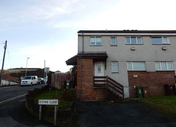 Thumbnail 1 bed maisonette for sale in Distine Close, Plymouth