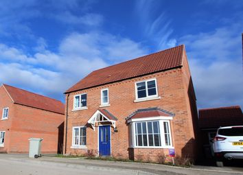 Thumbnail 4 bed detached house for sale in Albatross Way, Louth