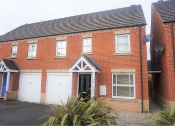 Thumbnail 3 bed semi-detached house for sale in Backworth Court, Newcastle Upon Tyne